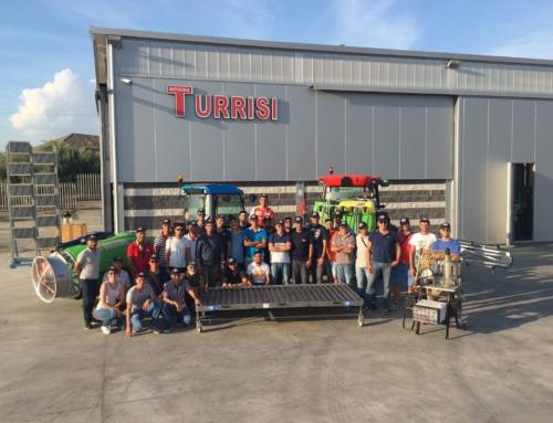 02/08/2017 Corso Regione Sicilia con prove in campo presso officina Turrisi